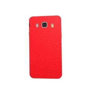Samsung Galaxy J5 2016 Red Texture Skin-Back & Sides-DT2214B