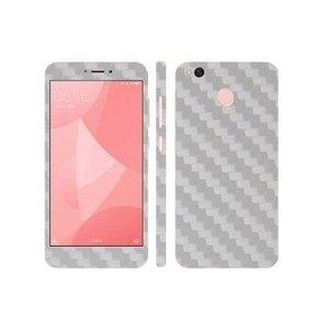 Xiaomi Redmi 4X White Carbon Fiber Texture Skin-DT7409