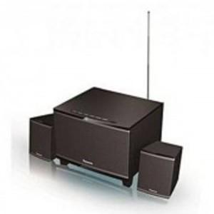 Panasonic SC -HT19GS-K -Channel Speaker System - 2.1 - Black