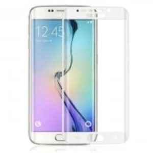 4D Curve Full Screen Glass for Samsung S6 Edge-Curve Edge-0.3mm-Silver