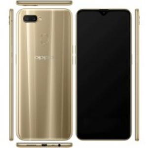 """OPPO A7 - 6.2"""" - 4GB Ram - 64GB - 16 MP Front - 13+2 MP Dual Real 4230 mAH Battery - Gold"""