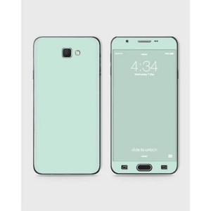 Samsung Galaxy J7 Prime Skin Wrap in Light Turquoise-1Wall19-1wall19-60