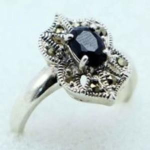 Sapphire Stone Ring -Multicolor-GB1894