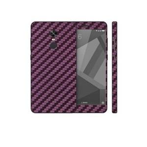 Xiaomi Redmi Note 4X Purple Carbon Fiber Texture Skin-DT7443