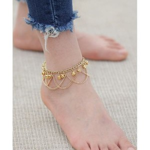 New Golden Anklet Foot Bracelet Jewelry AN02G