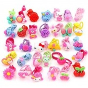Pack of 24-Assorted Hair Clips for Girls
