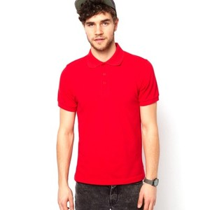 Polo T-Shirt-Red-DOH773