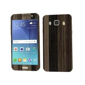 Samsung Galaxy J5 2016 Brown Stripped Wooden Texture Skin-DT2197