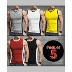 Pack of 5 Tank Top