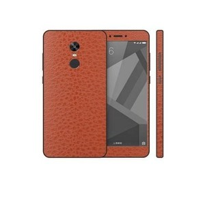 Xiaomi Redmi Note 4X Brown Common Leather Texture Skin-DT7429