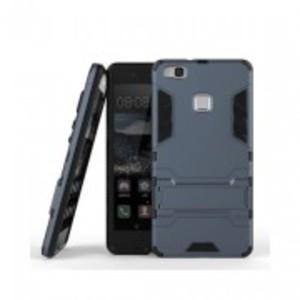 Dark Grey Huawei P9 Lite Robot Armor Stand Case