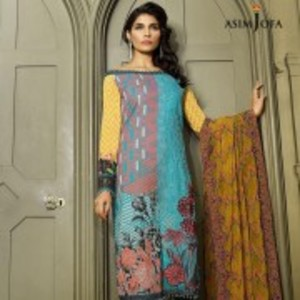 AJL-09A Luxury Lawn Collection 2018