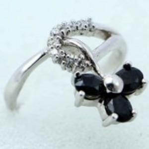 Sapphire Stone Ring -Multicolor-GB1898