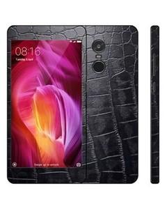 Decor Today Xiaomi Redmi Note 4 Black Crocodile Leather Texture Mobile Skin
