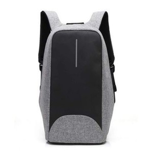 Anti Theft Travel Backpack-Grey