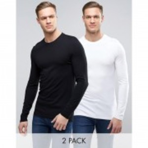 Pack of 2 Full Sleeves T-Shirt