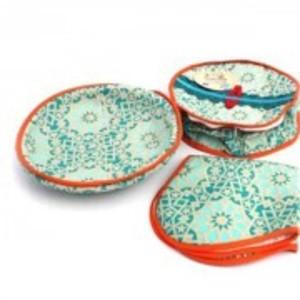 Pack Of 3 Roti Basket Mulitcolour