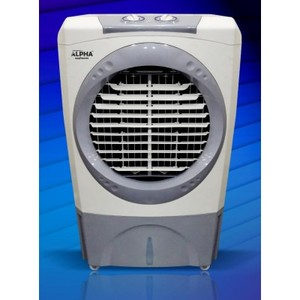 RAC-9999PS - Semi Automatic Water Air Cooler - White & Gray - Brand Warranty