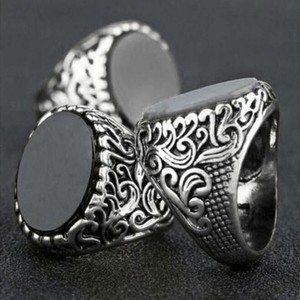 Men's Turkish Fashion Ring-Brass Alloy