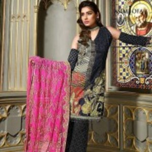 AJL-09B Luxury Lawn Collection 2018