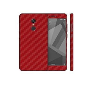 Xiaomi Redmi Note 4X Red Carbon Fiber Texture Skin-DT7444