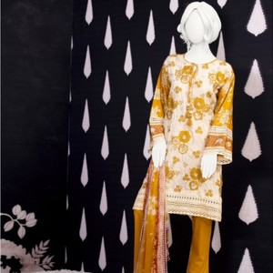Unstitched 3pcs Eid ul Fiter Collection 2018-JLAWN-S-18-200 Clan