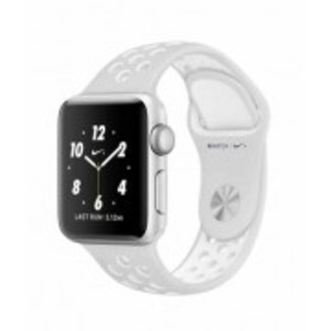 Apple iWatch Series 2 Nike+ 38mm Silver Aluminum Case with Pure Platinum/White Nike Sports Band