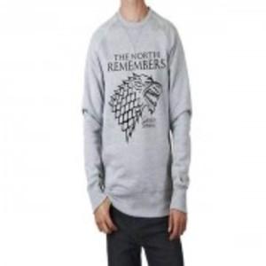 Game of thrones Grey Sweatshirt