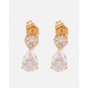 Golden 18-K Gold Plated Earrings