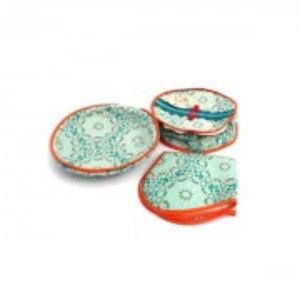 Pack Of 3 - Roti Basket - Mulitcolour