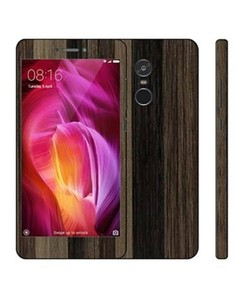 Decor Today Xiaomi Redmi Note 4 Brown Stripped Wooden Texture Mobile Skin