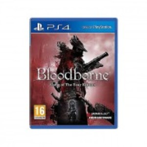 PLAYSTATION 4 DVD BLOODBORNE GAME OF THE YEAR EDITION PS4 GAME