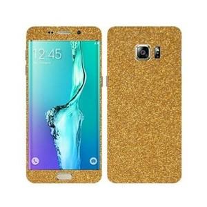 Samsung Galaxy S6 Edge Golden Glitter Skin-DT3401