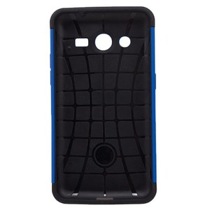 Spigen Back Case For Samsung Galaxy Core II G355-Blue and Black