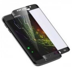 4D Curve Full Screen Glass for Samsung S6 Edge-Curve Edge-0.3mm-Black