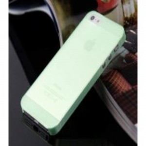 Ultra Thin 0.33mm Hard Back Case for Apple iPhone 5, 5s-Green