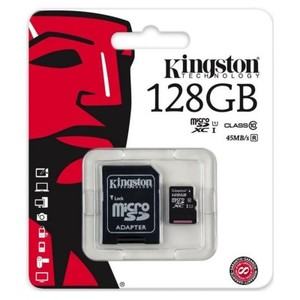 128 GB Micro SD Card Class 10--Black