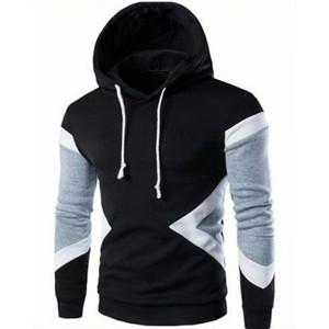 Fleece Printed Hoodies-Black-ARA-PHood-MultiStBlS