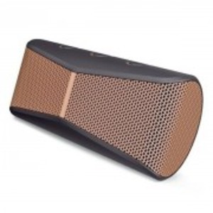 X300 - Mobile Wireless Stereo Portable Speaker - Black & Brown