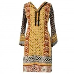 Khas Stores Khaddar 1 pcs Women Shirt DR-204