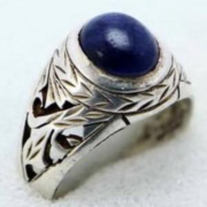 Sapphire Stone Ring -Deep Blue-GB1958
