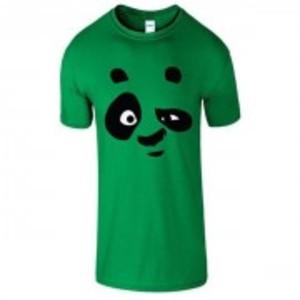 IrishGreen Stylish Panda Printed T-Shirt-03112