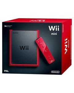 Nintendo WII Mini - Pal - Red