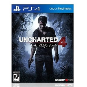 Uncharted 4: A Thief's End-PS4 Game