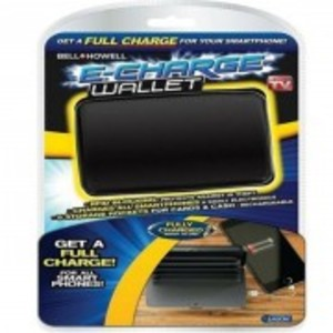 E-Charge Wallet Deluxe Portable Power Bank And Credit Card Case