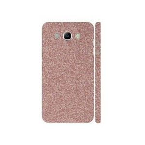 Samsung Galaxy J7 2016 Light Pink Glitter Skin-Back & Sides-DT2566B