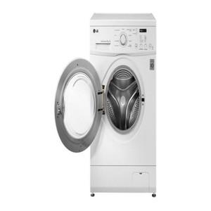 Fully Automatic Front Loading Washing Machine-White