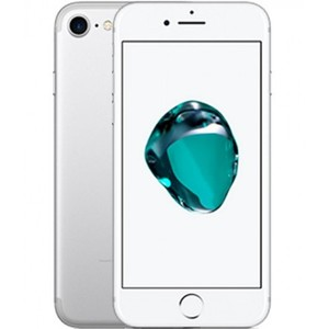 Silver IPHONE 7 32GB with 1 year warranty- iPhone 7