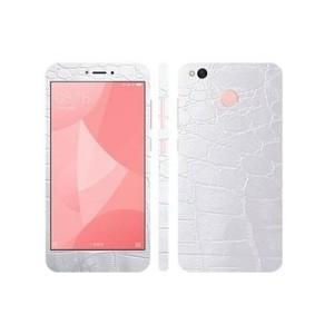 Xiaomi Redmi 4X Silver Crocodile Leather Texture Skin-DT7407