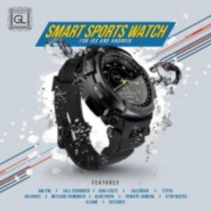 Smart Sports Watch GLS200 for Andriod & IOS